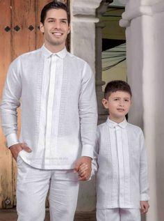 PRIMERA COMUNIÓN - PRIMAVERAL Bordados y Accesorios Boys First Communion Outfit, Barong Wedding, Polo Design, Daddy And Son, Aquarium Design, Chef Jackets, Daughter, Menswear, Mens Fashion