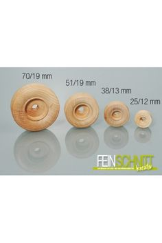 Räder für Holzspielzeug und Modellbau www.feinschnitt-kreativ.de