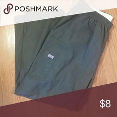 Scrub pants Clean grey Cherokee scrubs Cherokee Pants