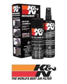 K&N Air Filter Cleaner & Recharge Oil Kit - 99-5000
