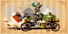 1000+ images about Brian Kesinger on Pinterest | Girls, Animation and Mermaids