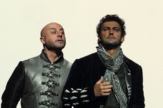 Marco Vratogna and Jonas Kaufmann in Otello, The Royal Opera © 2017 ROH. Photograph by Catherine Ashmore