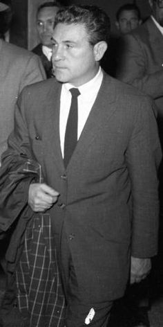 Marcello Giuseppe Caifano a.k.a. John Caifano a.k.a. John Marshall. Chicago Outfit gangster that emerged in Las Vegas.