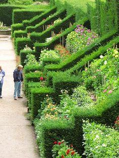 Dahlia Walk, Biddulph Grange Garden - Staffordshire, England