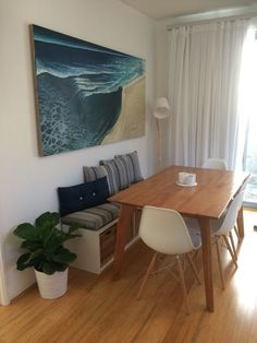 30 Creative Image of Kallax Dining Room . Kallax Dining Room Bench Seat With Dining Table Warwick Cushions Ikea Kallax Bench Tiny Dining Rooms, Ikea Dining Room, Dining Nook, Dining Decor, Dining Room Design, Ikea Dining Table Hack, Dining Set, Small Dining, Dining Table Bench Seat
