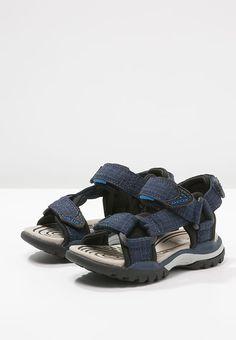 Geox BOREALIS - Walking sandals - dark navy black for £42.99 (13  2d6cb75ea