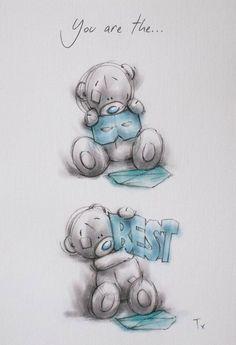 Pin by adriana sotelo on tatty teddy Teddy Bear Quotes, Teddy Bear Images, Teddy Bear Pictures, Tatty Teddy, Cartoon Drawings Of People, Cartoon Pics, Cute Cartoon, Cute Images, Cute Pictures