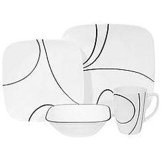 Corelle Simple Lines 16-pc Dinnerware Set