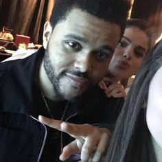 """""""Selena & Abel taking a selfie with a fan at his concert in Toronto, Canada"""" The #weeknd & #selena #XO"""