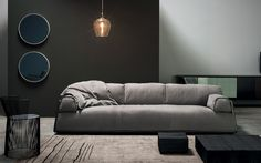 HARD&SOFT - Baxter - Hauz2 Living Room Sofa, Living Spaces, Baxter Furniture, Home Salon, Home Trends, Upholstered Furniture, Sofa Chair, Home Decor Items, Living Room Designs