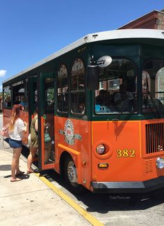 Old Towne Trolley Tours Savannah GA . Hop on, hop off. Great way to see the city and not waste your money.