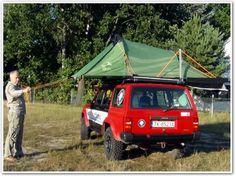 Namiot dachowy, praktyczny i tani