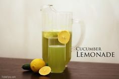 Chef Roble's Cucumber Lemonade
