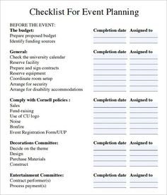 Event planning checklist pdf - b_ Events & Promotion - Event Planning Template, Event Planning Quotes, Checklist Template, Planner Template, Event Ideas, Theme Ideas, Party Ideas, The Plan, How To Plan