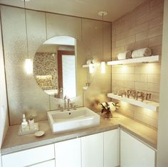 Washington Square Apartment - Bathroom - by David Howell Design