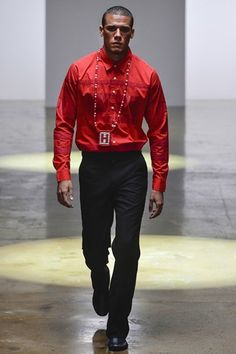 Hood by Air Spring 2014 Menswear Collection - Vogue High Fashion, Fashion Show, Mens Fashion, Fashion Design, Spring 2014, Spring Summer, Summer 2014, Hood By Air, Men's Wardrobe