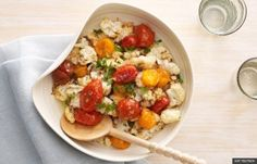 Roasted Cauliflower and Cherry Tomatoes (KAT TEUTSCH)