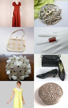 Vogueteam Tuesday Vintage Finds by Nancy on Etsy--Pinned with TreasuryPin.com