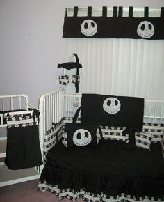 New Nightmare Before Christmas JACK baby Crib Bedding Set custom made to order, $275.00