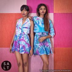 Summer Colours #Batiks #Salt