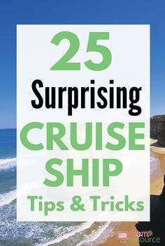 Need cruise ship tips? If this is your first time on a cruise ship, these 25 cruise ship tips will be perfect for you. Tips and tricks and hacks for couples or with kids - whether your cruising Carniv Packing List For Cruise, Cruise Travel, Cruise Vacation, Disney Cruise, Packing Tips, Shopping Travel, Vacation Ideas, Honeymoon Cruise, Vacation Pictures