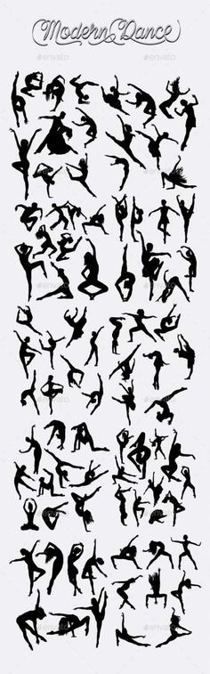 Buy Modern Dance Silhouettes by on GraphicRiver. Smooth and detail vector, male and female modern dancer action silhouette. Just Dance, Dance Moms, Dance Silhouette, Ballerina Silhouette, Dance Teacher, Salsa Dancing, Dance Quotes, Dance Pictures, Art Pictures