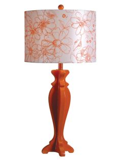 Profile Collection Scroll 1-Light Table Lamp by Design Craft at Gilt