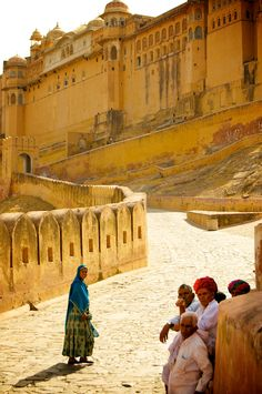 Amber Fort, Jaipur, India.  - Explore the World with Travel Nerd Nici, one Country at a Time. http://travelnerdnici.com/