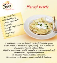 Polish Recipes, New Recipes, Vegetarian Recipes, Cooking Recipes, Home Food, Clean Eating, Easy Meals, Food And Drink, Yummy Food