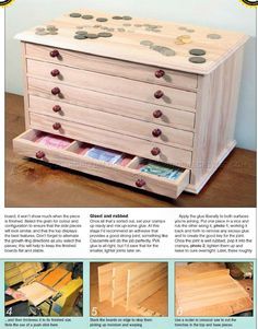 #424 Collectors Chest Plan - Woodworking Plans