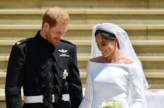 Prince Harry Thanked Clare Waight Keller of Givenchy for Meghan's Wedding Dress