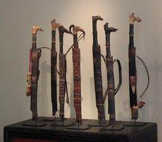 Mandau Land Art, Bookends, Culture, Knives, Home Decor, Decoration Home, Room Decor, Knife Making, Knifes