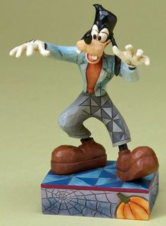 Franken Goofy figurine (Jim Shore) from our Jim Shore Disney Traditions collection Disney Figurines, Collectible Figurines, Goofy Disney, Disney Collector, Frankenstein's Monster, Disney Traditions, Hunting Gifts, Disney Halloween, Traditional