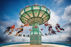 Swing Ride by Eric Rousset