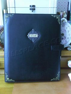 Filofax Metropol A4 with Tim Holtz Idea-ology additions