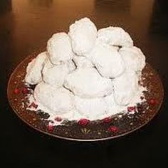 Kourambiedes greek christmas cookies recipe greek christmas greek christmas cookies kourambiedes polish food recipesgreek forumfinder Gallery