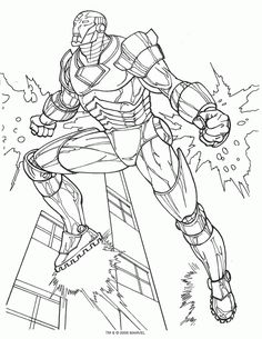 14 Best Ironman Images In 2014 Coloring Pages For Kids Coloring