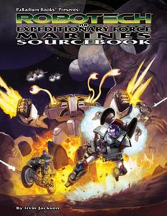 Robotech®: Expeditionary Force Marines Sourcebook
