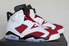 """Air Jordan 6 """"Carmine"""" - Release Date www.equniu.com/2014/01/24/air-jordan-6-carmine-release-date/"""