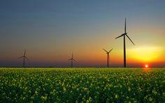 Moinhos de vento de imagens