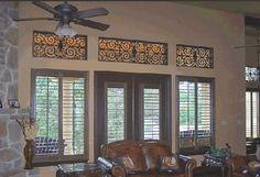 Tableaux Faux Iron Window #99