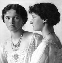 The Big Pair. Olga and Tatiana.