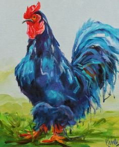The Big Boss, painting by artist Kay Wyne