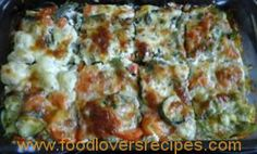 KORSLOSE GROENTEGEREG Vegetable Dishes, Vegetable Recipes, Kitchen Recipes, Cooking Recipes, Fruit And Veg, Eating Plans, Cooking Time, Yummy Food, Yummy Recipes