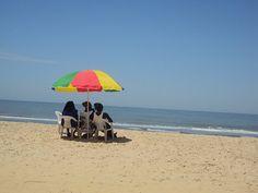 Laura d'Evaneos en Gambie. A la plage de Kololi, ambiance Bob Marley garantie!