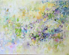 pintura sobre lienzo pintura abstracta pintura por artbyoak1