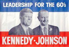 Kennedy/Johnson 1960. - #history #politics