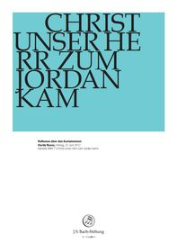 "BWV 7: Hardy Ruoss    Reflexion zum Kantatentext    Hardy Ruoss über BWV 7 "" Christ unser Herr zum Jordan kam""    22. Juni 2012 22 Juni, Christen, Foundation, Company Logo, Logos, Logo, Foundation Series"