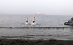 the polar plunge: Why do I want to do this?! #YOLO