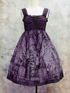 Good idea for halloween wedding bridesmaids dress